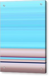 Calm Seas Acrylic Print by Ann Johndro-Collins
