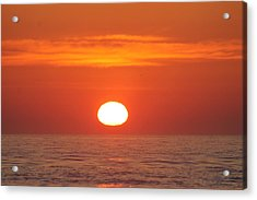 Calm Seas Sunrise Acrylic Print
