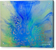 Calm Waters Abstract Acrylic Print
