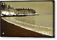 Calm Waters Acrylic Print by Alana Ranney