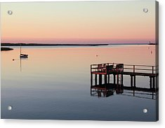 Calm Waters Acrylic Print by Roupen  Baker