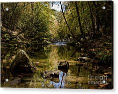 Acrylic Print featuring the photograph Calmer Water by Douglas Stucky