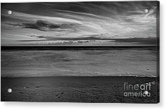 Acrylic Print featuring the photograph Calming Seas by Linda Lees