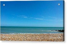 Calming Seaside View Acrylic Print