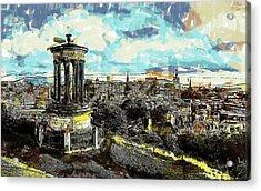 Calton Hill Edinburgh Acrylic Print