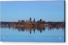 Calumet Island Reflections Acrylic Print