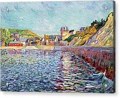 Calvados Acrylic Print by Paul Signac