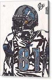 Calvin Johnson Jr 3 Acrylic Print