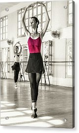 Acrylic Print featuring the photograph Camaguey Ballet 1 by Lou Novick