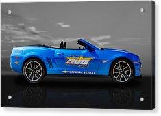 2013 Chevy Camaro Hot Wheels Pace Car  -  Cam3 Acrylic Print