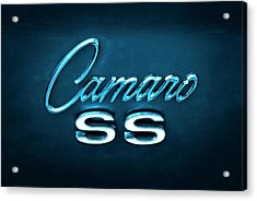 Camaro S S Emblem Acrylic Print