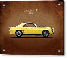 Camaro Ss 396 Acrylic Print by Mark Rogan