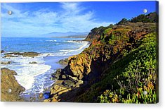 Cambria By The Sea Acrylic Print