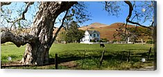 Cambria Farm House Acrylic Print by Jan Cipolla