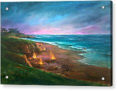 Cambria's 4th Of July Acrylic Print by Sally Seago
