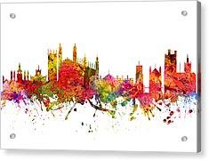 Cambridge Cityscape 08 Acrylic Print