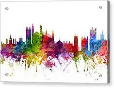 Cambridge England Cityscape 06 Acrylic Print