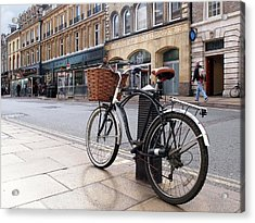 Acrylic Print featuring the photograph The Wheels Of Justice - Cambridge Magistrates Court by Gill Billington