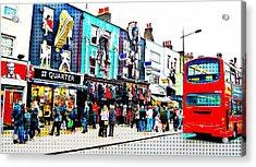 Camden High Street Acrylic Print by JAMART Photography