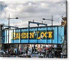 Camden Lock Acrylic Print