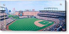 Camden Yard Stadium, Baltimore, Orioles Acrylic Print by Panoramic Images