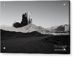 Camel Butte In Monument Valley Utah Acrylic Print by Julia Hiebaum