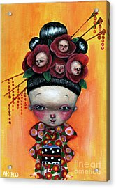 Camellia And Friends Acrylic Print