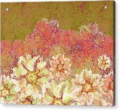 Camellia Hedges Acrylic Print