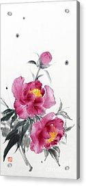 Camellia / Tsubaki Acrylic Print