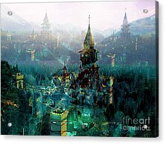 Camelot Acrylic Print by Tammera Malicki-Wong