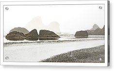 Acrylic Print featuring the photograph Camel Rock From Moonstone Beach by Jon Exley
