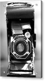 Camera Still Life 2 Acrylic Print by John Gusky