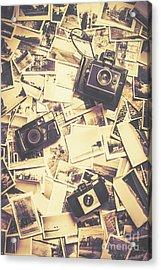 Cameras On A Visual Storyboard Acrylic Print by Jorgo Photography - Wall Art Gallery
