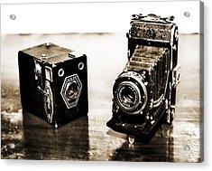 Cameras Acrylic Print by Thomas Kessler
