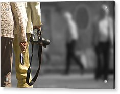 Cameras Unholstered Acrylic Print by Hazy Apple