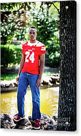 Cameron 053 Acrylic Print by M K  Miller