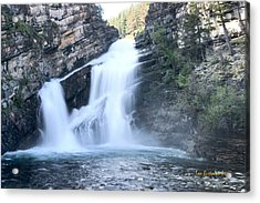 Cameron Falls Acrylic Print by Tom Buchanan