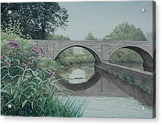 Camillus Canal Acrylic Print by Stephen Bluto