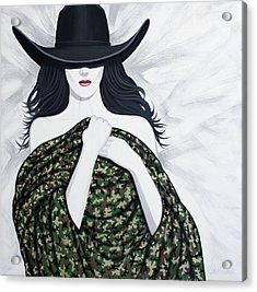 Camo Acrylic Print