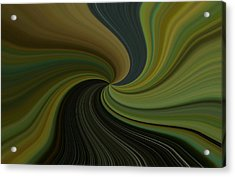 Camo Twist Acrylic Print by Joshua Sunday