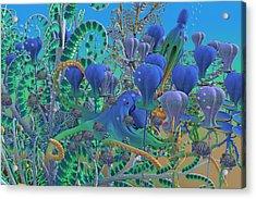 Camouflage  Acrylic Print by Betsy Knapp