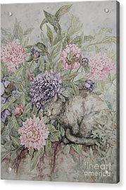 Camouflaged Acrylic Print