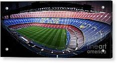 Camp Nou Acrylic Print