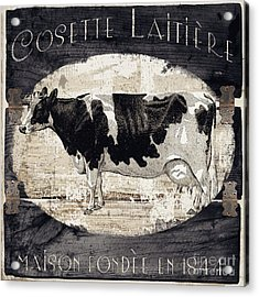 Campagne I French Cow Farm Acrylic Print