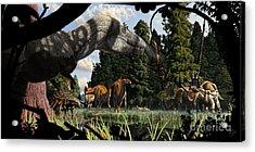 Campanian Montana Landscape Acrylic Print