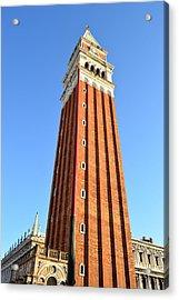 Campanile Di San Marco In Venice Acrylic Print