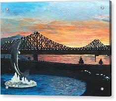 Campbellton New Brunswick Acrylic Print