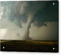 Acrylic Print featuring the photograph Campo Tornado by Ed Sweeney