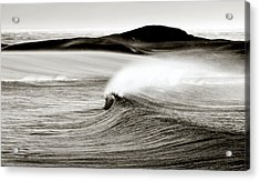 Camps Bay Wave Acrylic Print by Tim Booth