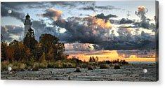 Cana Island At Dawn Acrylic Print